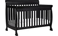 Million Dollar Baby DaVinci Kalani Black 4-in-1 Convertible Crib