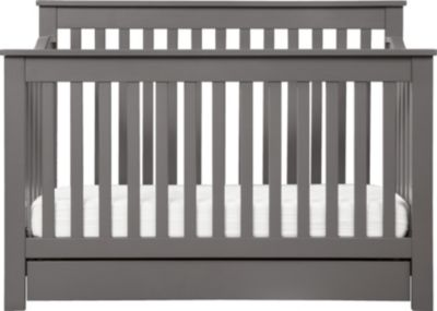 Million Dollar Baby Piedmont Gray 4-In-1 Crib