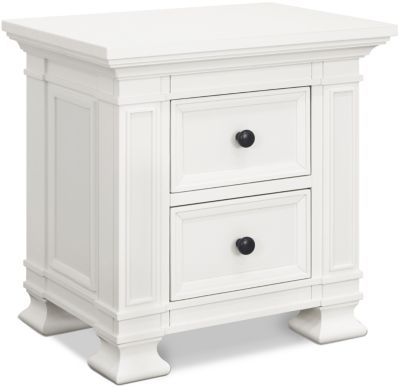 Million Dollar Baby Tillen White Nightstand