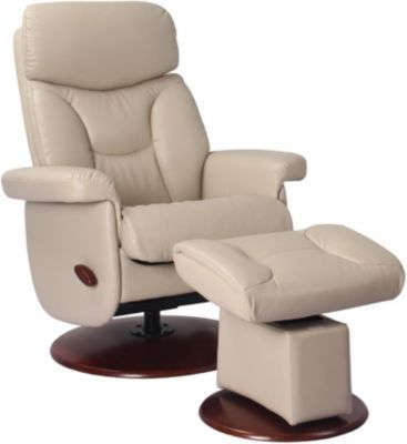 Benchmaster Madison Swivel Glider & Ottoman