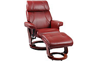 Benchmaster Bella Reclining Chair & Ottoman