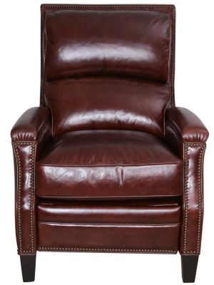 Bernhardt Bynum 100% Leather Recliner