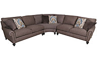 Bernhardt Signature Seating 3-Piece Sectional
