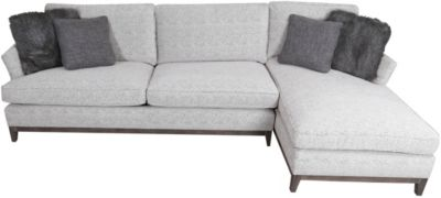 Bernhardt patrick chaise sofa homemakers furniture for Bernhardt chaise lounge