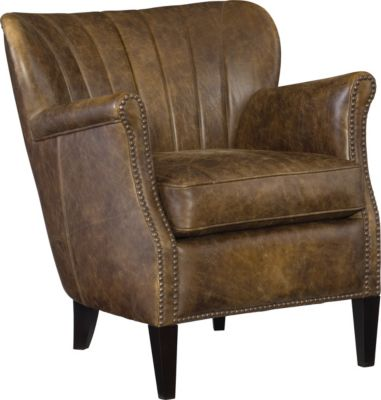 Bernhardt Kipley 100% Leather Chair