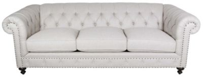 Bernhardt London Club 93-Inch Chesterfield Sofa