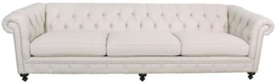 Bernhardt London Club 116-Inch Chesterfield Sofa