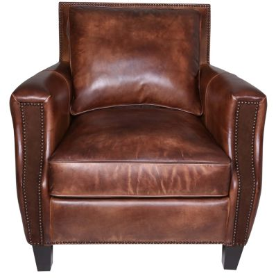 Bernhardt Normandy 100% Leather Chair