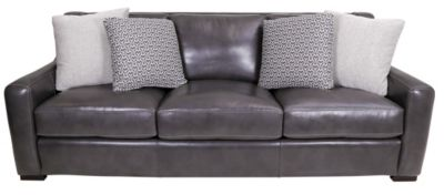 Bernhardt Germaine 100% Leather Sofa