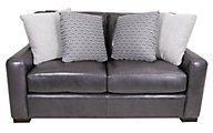 Bernhardt Germaine 100% Leather Loveseat