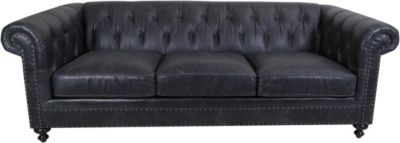 Bernhardt London 100% Leather Sofa