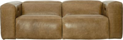 Bernhardt Cosmo 100% Leather Power Motion Sofa