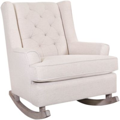 Best Chair Paisley Tufted Rocking Chair