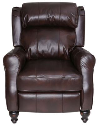 Best Chair Patrick Leather Power Recliner
