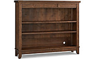 Bivona Dolce Babi Grado Farmhouse Brown Hutch Bookcase