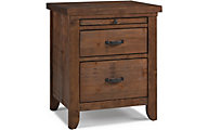 Bivona Dolce Babi Grado Farmhouse Brown Nightstand