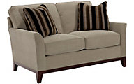 Broyhill Perspectives Tan Loveseat