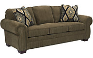 Broyhill Cambridge Brown Sofa