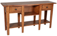 Broyhill Attic Heirlooms Sofa Table with Storage