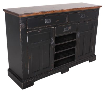 Canadel Champlain Buffet with Wine Rack