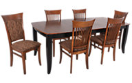 Canadel Custom Table & 6 Chairs