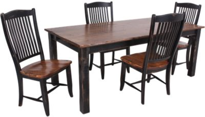 Canadel Champlain Table 4 Chairs Homemakers Furniture