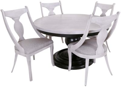 Canadel 5-Piece Round Dining Set