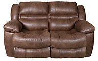Catnapper Valiant Rocking Reclining Loveseat