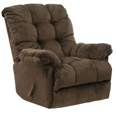 Catnapper Nettles Brown Massage Rocker Recliner