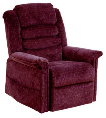 Catnapper Soother Burgundy Lift Massage Chair