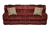 Catnapper Siesta Red Queen Sleeper Sofa
