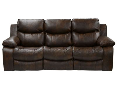 Catnapper Catalina Brown Reclining Sofa