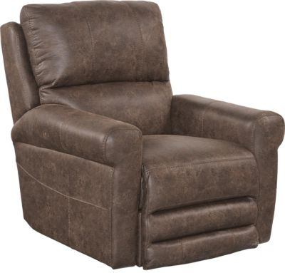 Catnapper Maddie Chocolate Power Wall Recliner