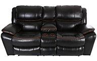 Catnapper Beckett Power Reclining Loveseat with Console
