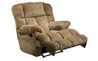 Catnapper Cloud 12 Tan Rocker Recliner