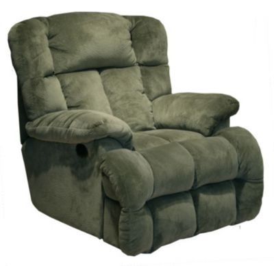 Catnapper Cloud 12 Green Power Lay-Flat Recliner
