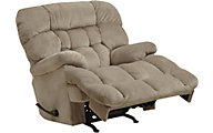 Catnapper Colson Cream Massage Rocker Recliner