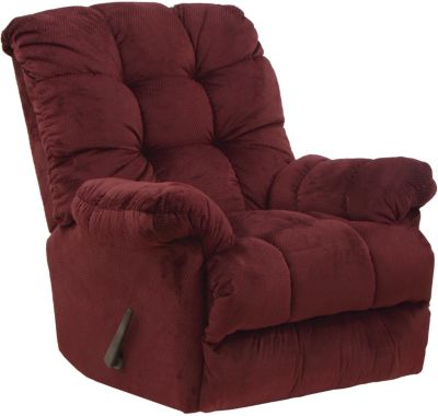 Catnapper Nettles Crimson Rocker Recliner