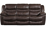 Catnapper Valliant Espresso Reclining Sofa