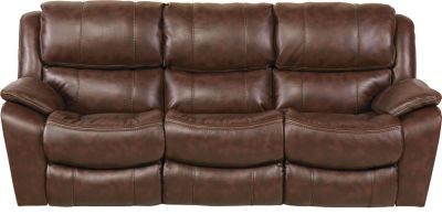Catnapper Beckett Chocolate Power Reclining Sofa