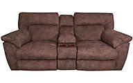 Catnapper Nichols Lay-Flat Power Loveseat with Console