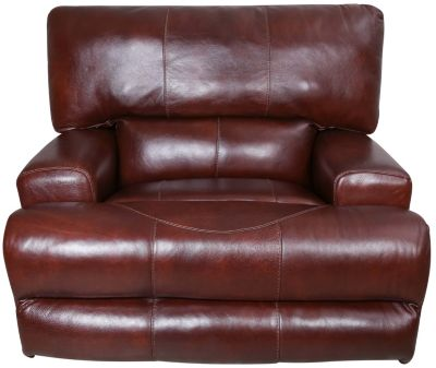 catnapper wembley leather power recliner with power headrest - Catnapper Recliner