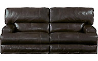 Catnapper Wembley Espresso Leather Power Lay-Flat Sofa