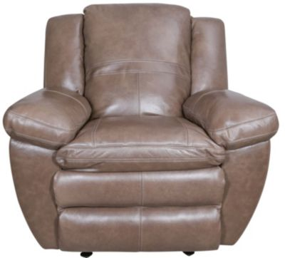 Catnapper Aria Leather Power Lay-Flat Recliner