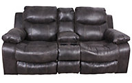 Catnapper Catalina Reclining Loveseat with Console