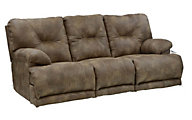Catnapper Voyager Power Recline Lay Flat Sofa