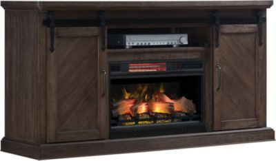Classic Flame/Tresanti Southgate Log Fireplace