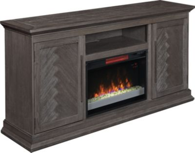 Classic Flame/Tresanti Ridgefield Fireplace with Glass Firebox