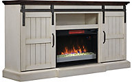Classic Flame/Tresanti Hogan Barn Door Fireplace