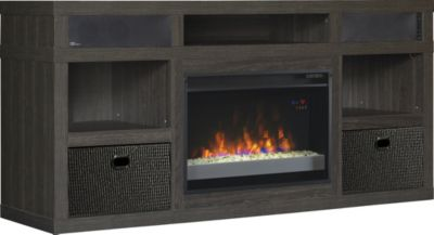 Classic Flame/Tresanti Greatlin Media Mantel Fireplace